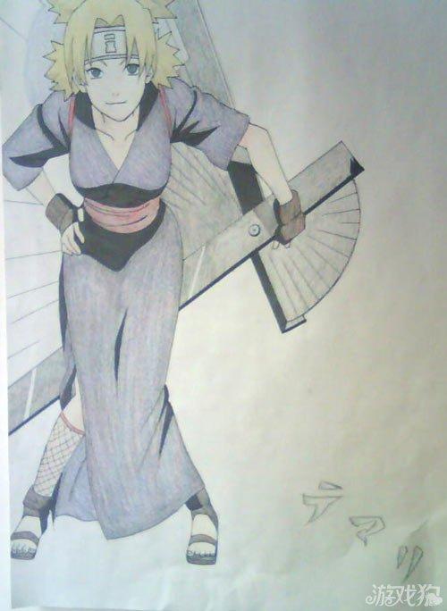 火影忍者人物彩色手绘集合 彩色手绘