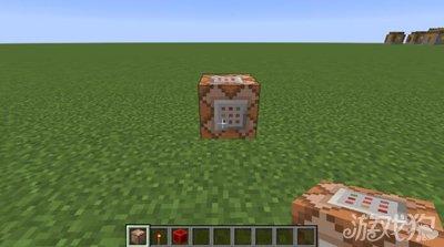 我的世界命令方块怎么制作火焰脚印特效图片