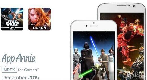 App Annie更新了2015年全球手游指数榜单