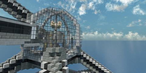 我的世界高科技建筑 东京清水金字塔存档