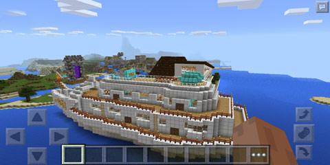 我的世界大型豪华别墅 虚梦别墅1