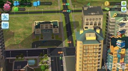 模拟城市建造交通部和客运站设计图