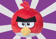 愤怒的小鸟毛绒玩偶