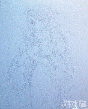 奇迹暖暖手绘教程之西尔维娅夫人