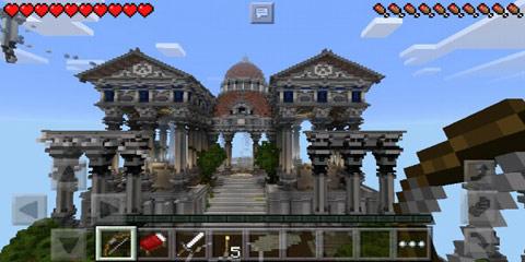 我的世界欧洲神话建筑 宙斯神殿精美版