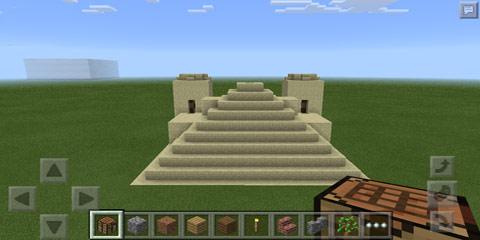 我的世界工作台点击生成沙漠神殿