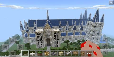我的世界欧式教堂建筑 帕罗斯大教堂图片