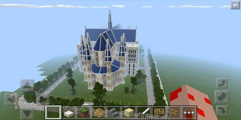 我的世界欧式教堂建筑