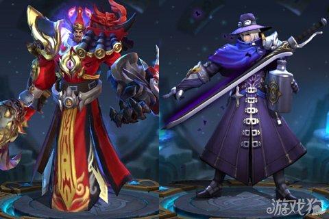 王者荣耀花木兰李白及钟馗三大英雄对比