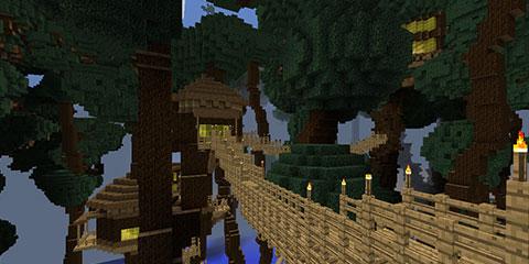 迷失森林高清地图 迷失森林野人洞地图 迷失森林地图详细标注图片