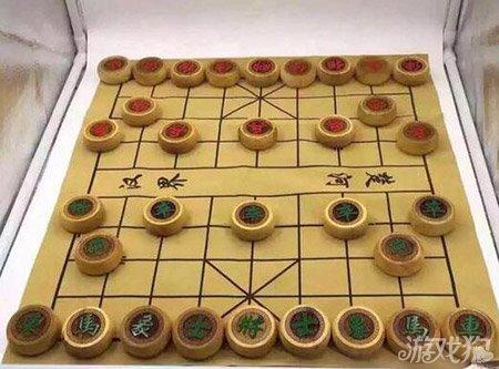 忆小时侯看中国象棋世界图片