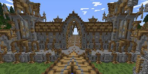 我的世界猎户座城堡地图存档分享