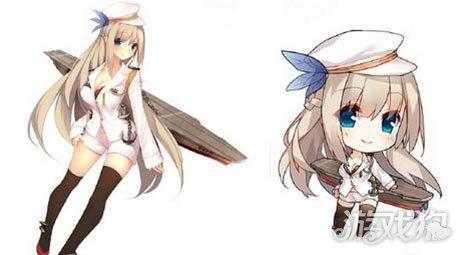 列克星敦级航母q版手办将推出 造型呆萌可爱