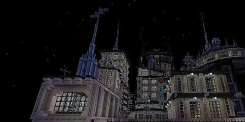 我的世界太空城市 这真的是人类设计的吗