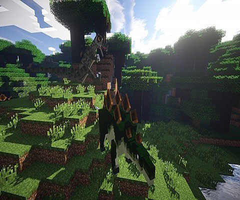 侏罗纪公园降临 我的世界恐龙mod分享