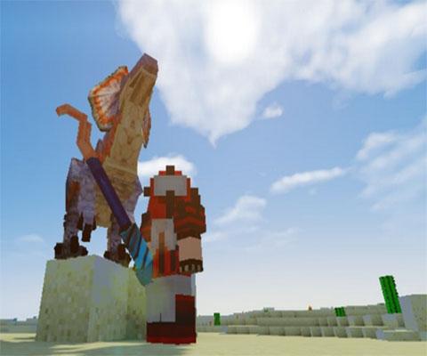 成为一个勇敢的猎人 怪物猎人mod分享_我的世界_游戏狗图片