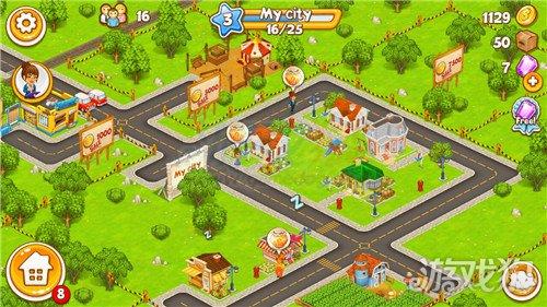 农场小镇_卡通小镇农场和村庄建筑升级加点法方式