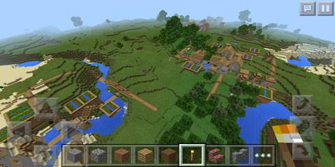 我的世界三个村庄集合