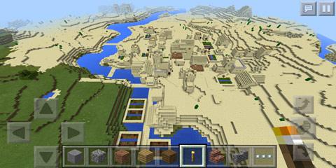 我的世界错乱房屋的大型村庄