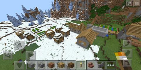 巨型村庄种子_我的世界雪地村庄种子
