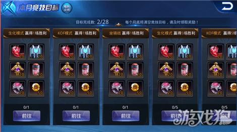 無敵炫鬥王每月競技目標玩法分析