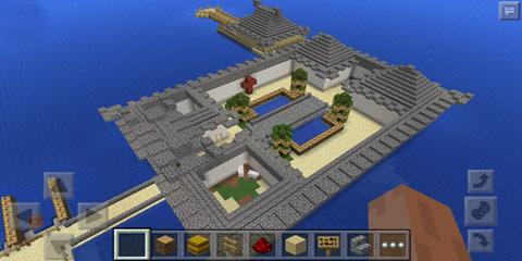我的世界古典风格建筑 海上四合庄园