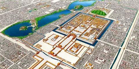 我的世界1751的北京城 最大中式建筑群图片