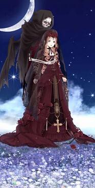 奇迹暖暖信鸽王国之黑寂蔷薇套装鉴赏