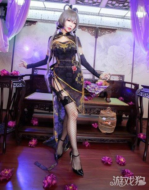 洛天依金丝雀cosplay 惊艳绝美到爆图片