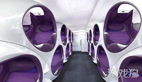 未来的飞机可能是这样:连vr都配备上