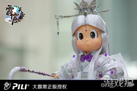相比较电视木偶,霹雳雨娃的形象偏重卡通风格