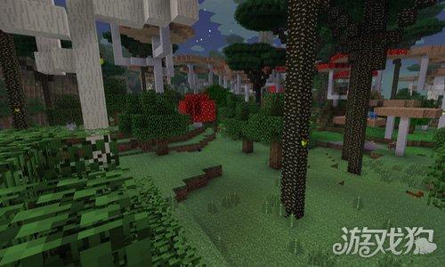 我的世界暮色森林主要地形介绍