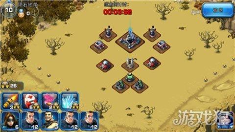 而手游版《星际争霸-人族崛起》采用的养成+塔防的游戏模式,在游戏中