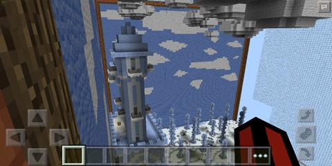 我的世界方盒系列之冰雪城堡pvp