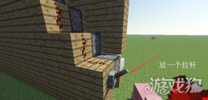 我的世界操作楼梯做伸缩教程建造楼梯氧焊的伸缩方法图片