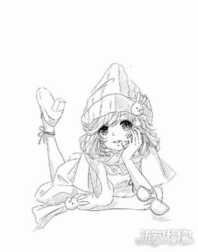 暖暖环游世界玩家手绘冬装服饰欣赏