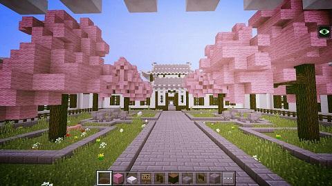 我的世界古代建筑白帝城 登高远望首选