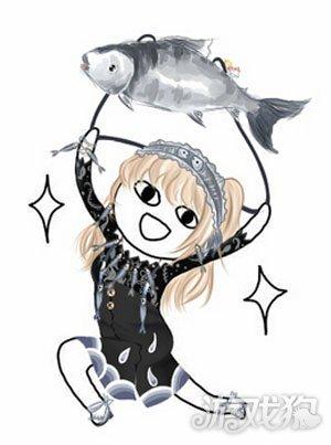 奇迹暖暖咸鱼套装手绘漫画表情包欣赏图片