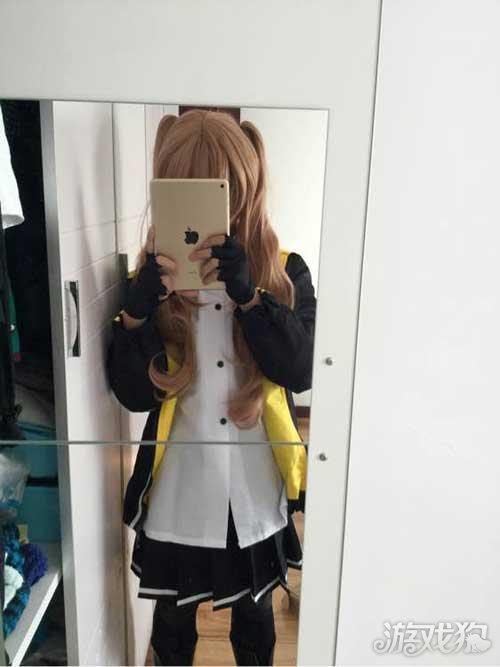 玩家前线少女我在等红包的动态图片搞笑cosplayUMP9cos图片欣赏_少女图片