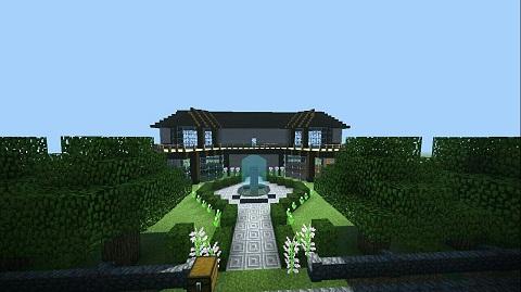 我的世界现代豪华别墅 梦寐以求的住所