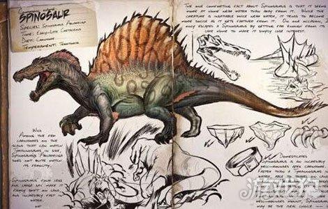 方舟生存进化棘背龙饲料图片