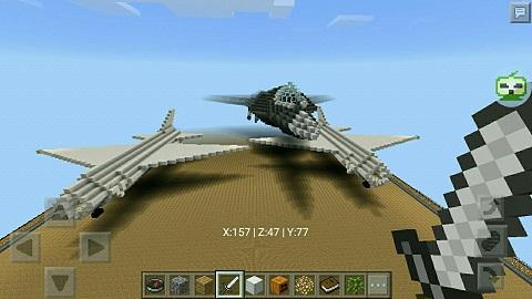 我的世界军事村庄_我的世界空中军事基地 各种战机的平台
