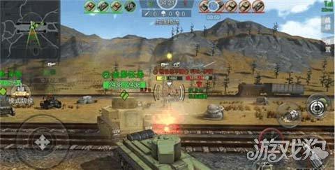 3D坦克争霸2东线铁路阵地与偷袭战作战技巧分析_3d坦克争霸2_游戏狗