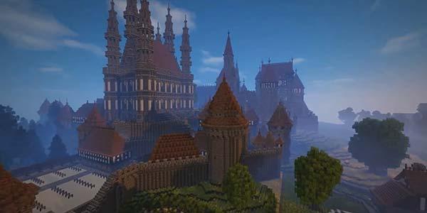 我的世界城堡历险记 解锁神秘的地图
