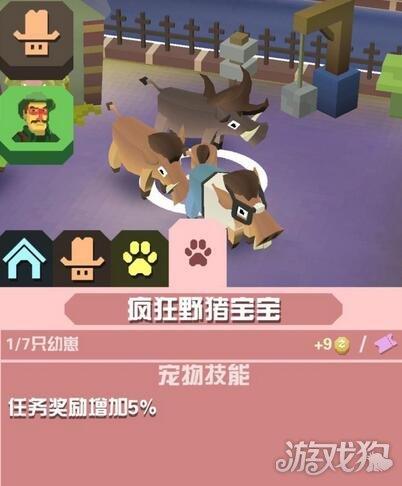 疯狂动物园疯狂野猪宝宝图鉴属性介绍