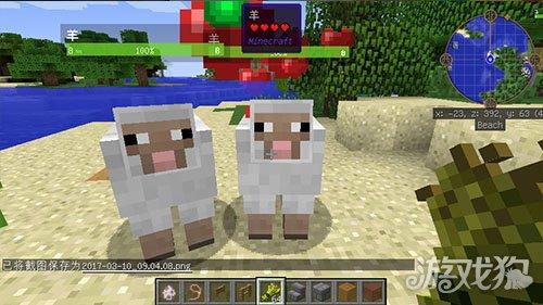 我的世界的羊咩咩们十分的软萌可爱,玩家们可以在自己的世界中创造出一个可爱的羊村,接下来告诉大家如何实现这一创意。 找到至少两只羊,并且手里有足够的小麦。