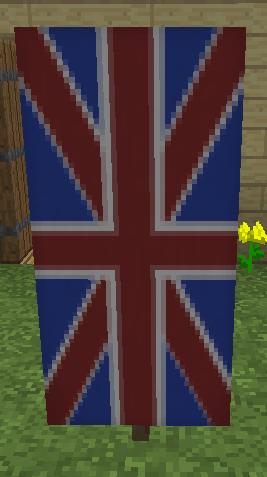 我的世界国旗制作方法 英国国旗的制作方法
