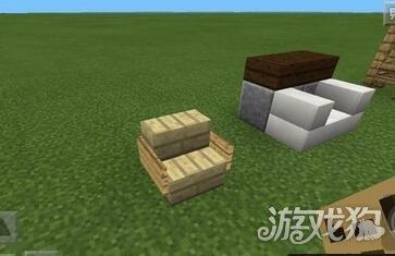 用不起眼的告示牌木板就能在我的世界中做出一个小巧的沙发,不得不说