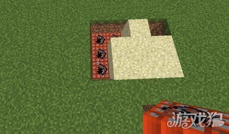 我的世界沙漠地雷陷阱建造图解