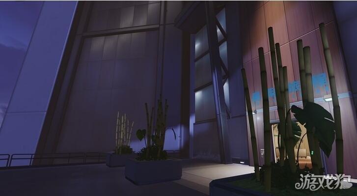 守望先锋漓江塔控制大楼的一些小细节研究